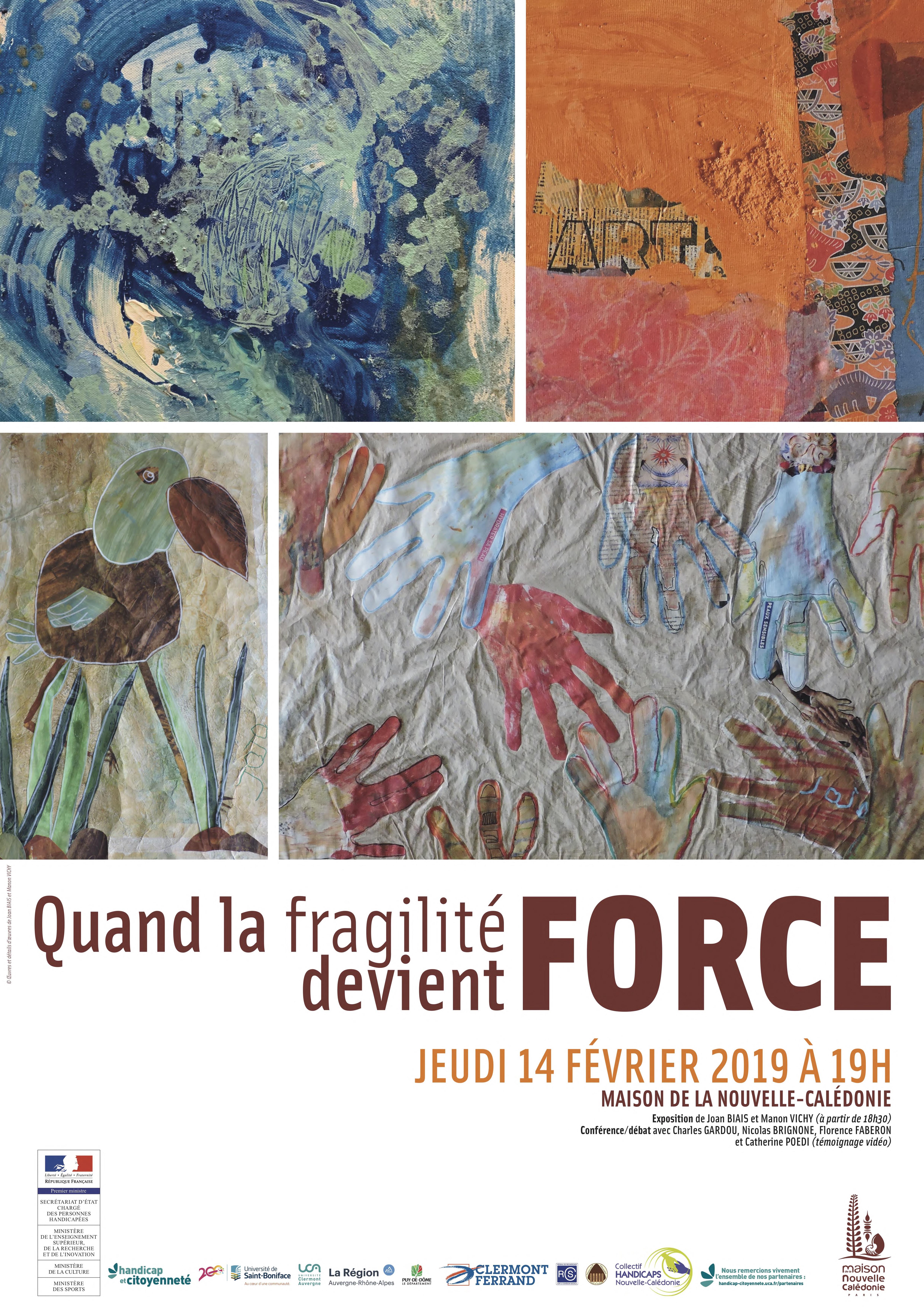 Affiche : Quand la fragilité devient force