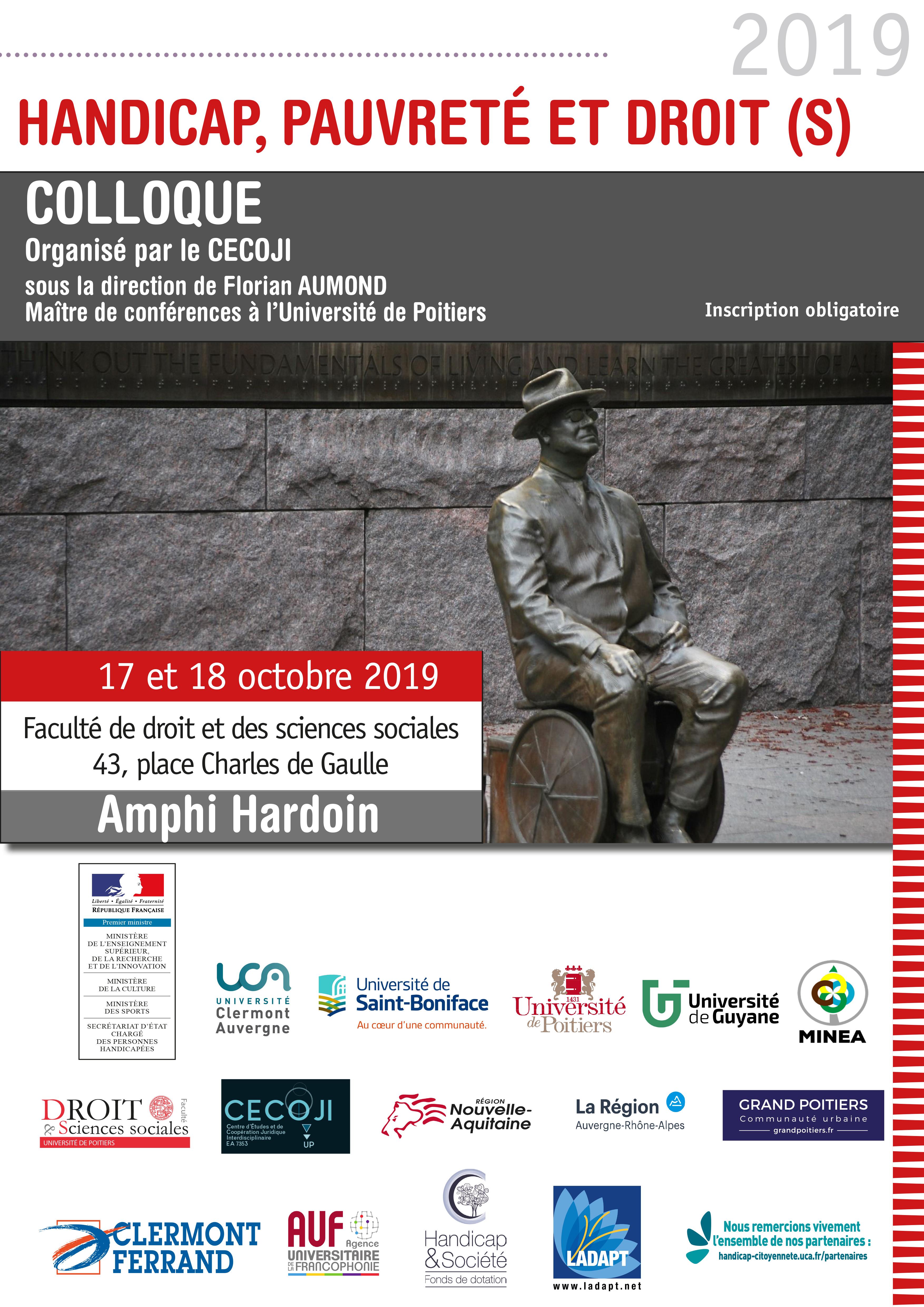 Affiche : Poitiers 2019