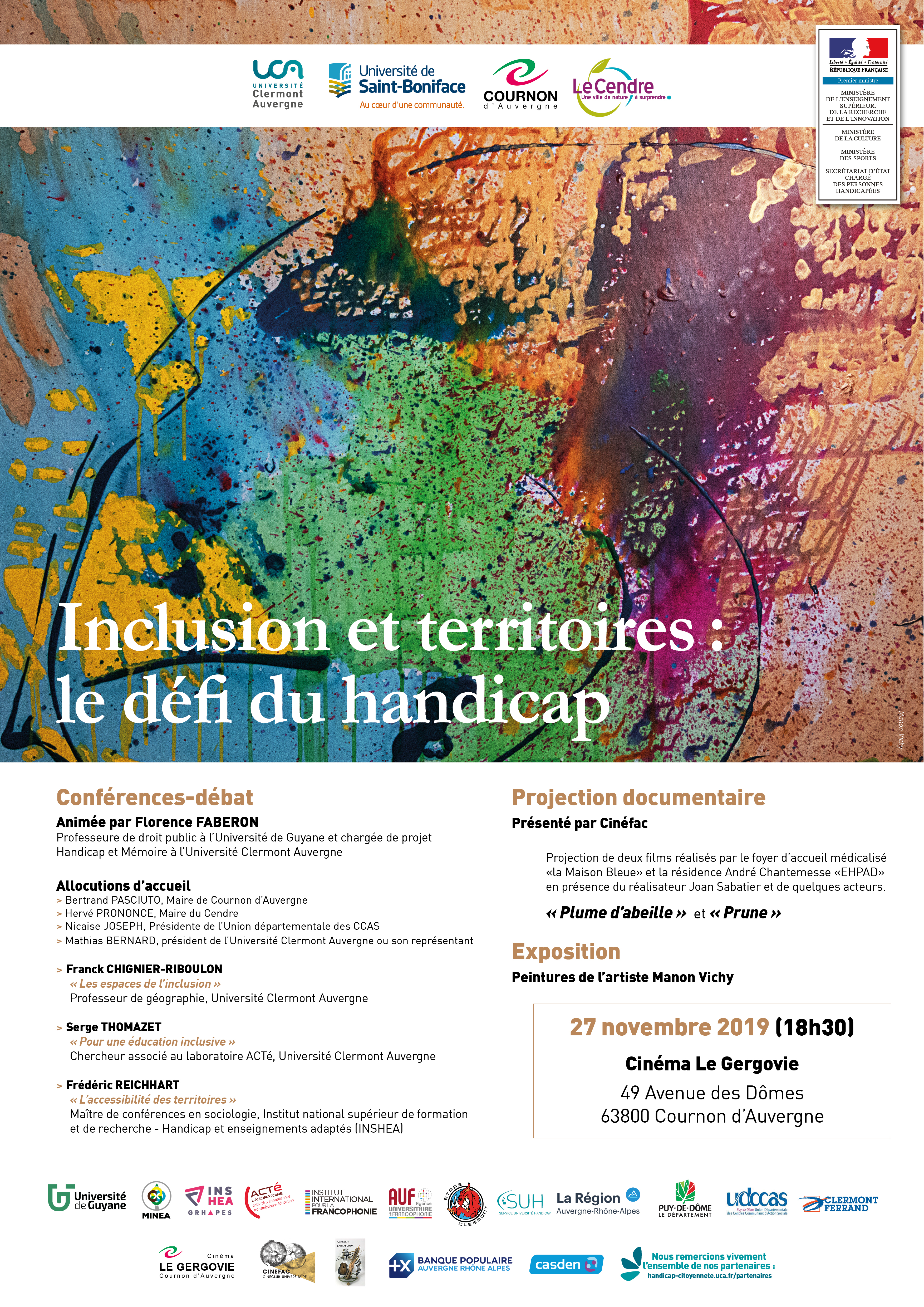 Affiche : Inclusion et territoires