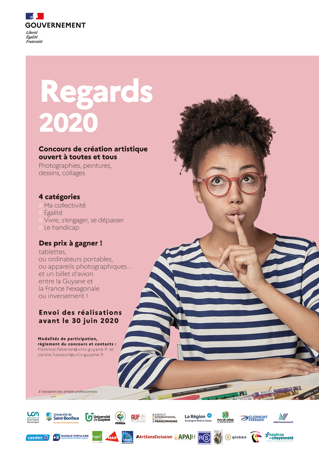 Affiche - Regards 2020