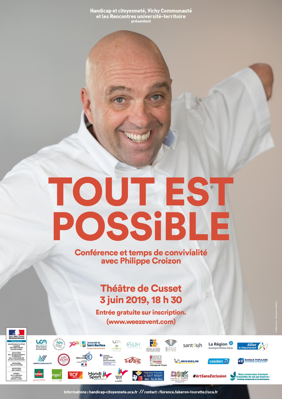 """Affiche de """"Tout est possible"""""""